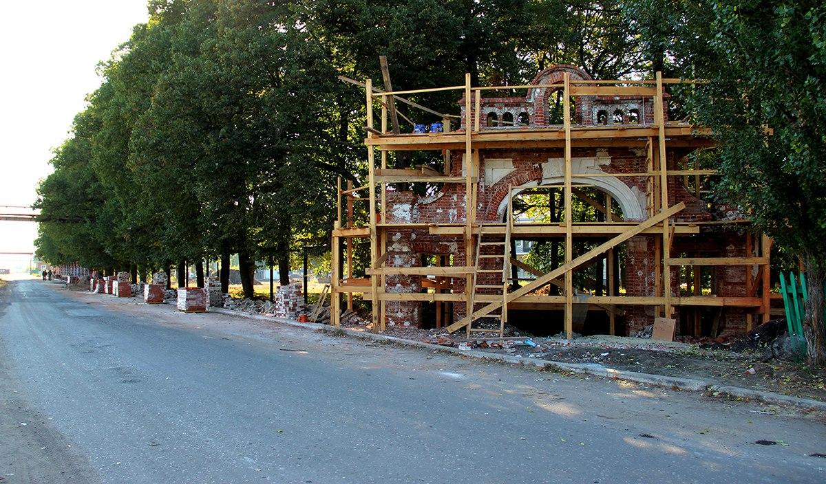 Асеевский дворец в Рассказово может превратиться в аппартаменты для вип-персон