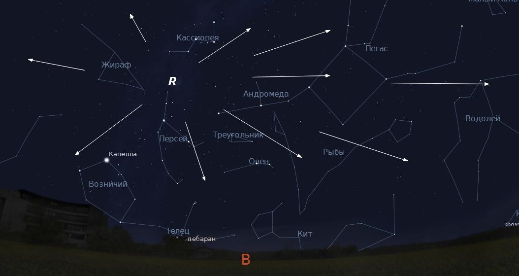 Граждане Волжского увидят самый яркий августовский звездопад