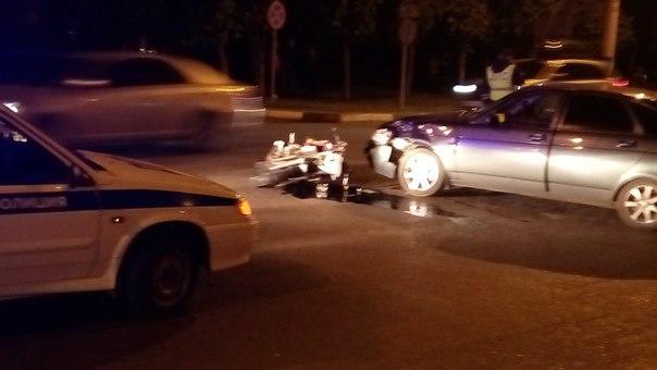 ДТП вТамбове: Встолкновении «Приоры» смотоциклом погибла девушка