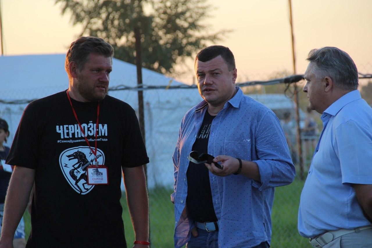 Рок-фестиваль «Чернозем» посетил губернатор Тамбовской области Александр Никитин