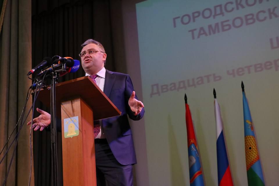 Мэром Тамбова избран прежний замгубернатора Сергей Чеботарев