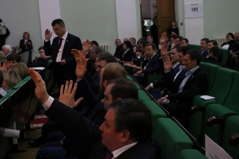 Сергей Чеботарёв стал новым мэром Тамбова
