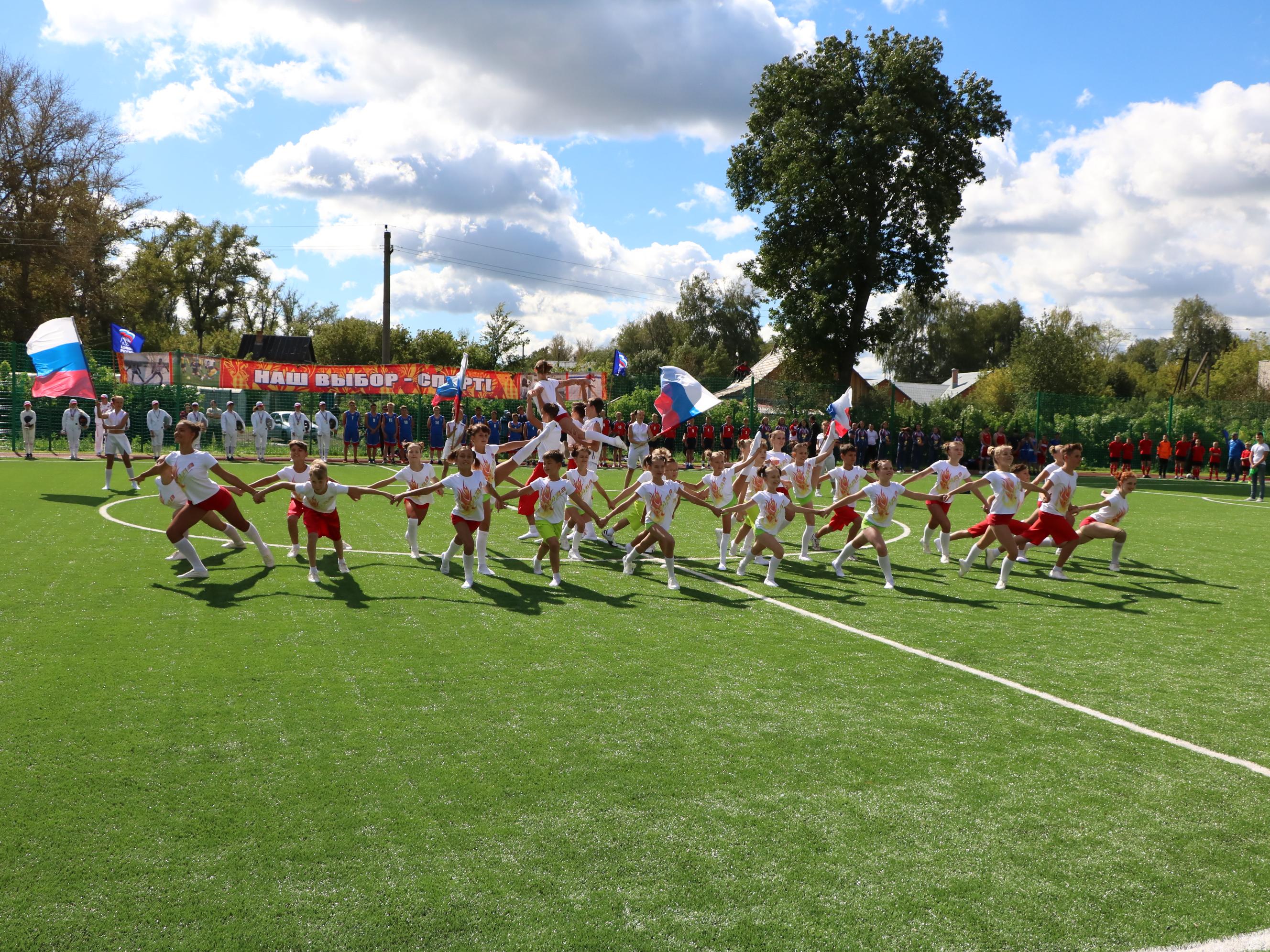 ВМичуринске открыли новый пришкольный стадион