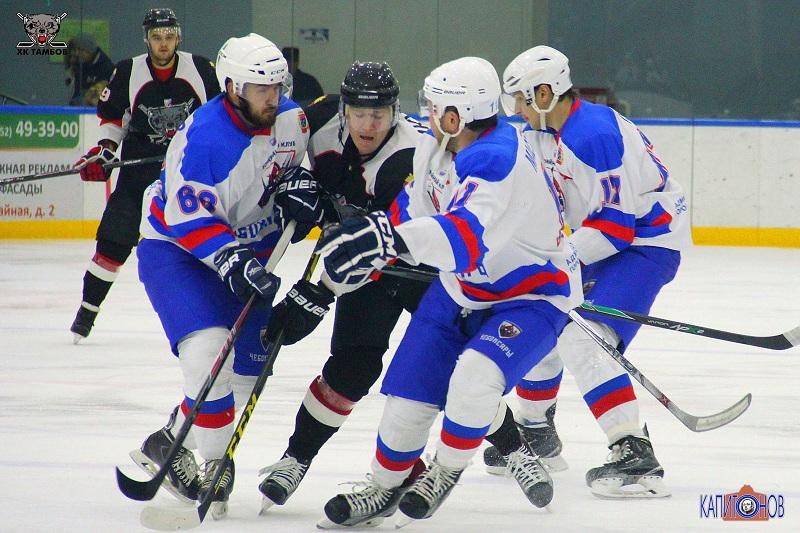 Вдомашнем матче тамбовские хоккеисты разгромилиХК «Чебоксары»