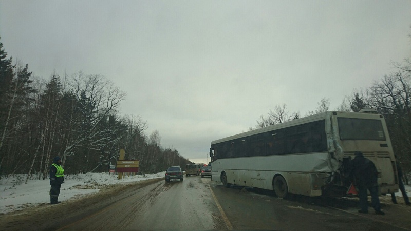Утреннее ДТП натрассе «Тамбов-Пенза» обошлось без пострадавших
