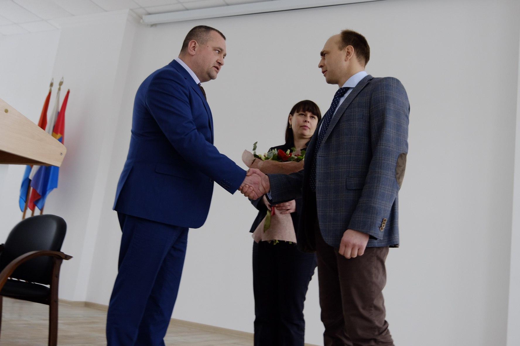 ВТамбовском районе выбрали нового руководителя
