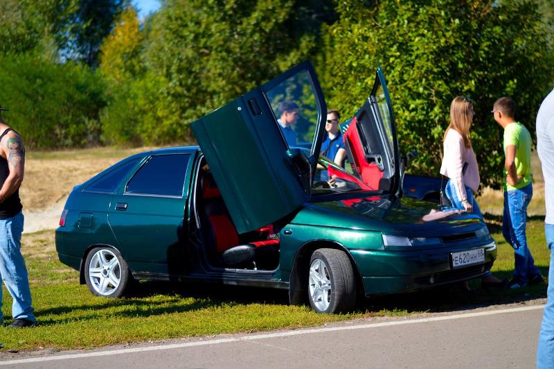 ВТамбове прошел автомобильный фестиваль Crazy parKiNG