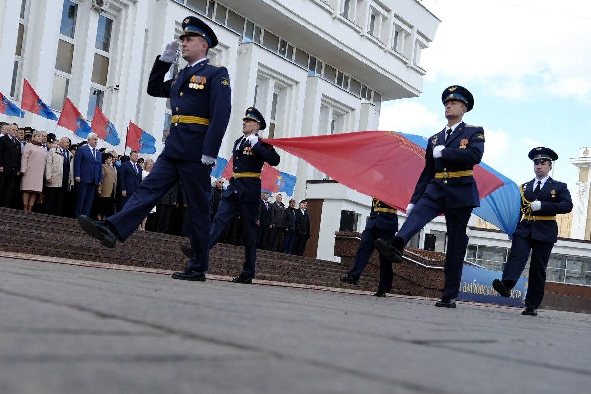 Глава государства поздравил Тамбовскую область с80-летием