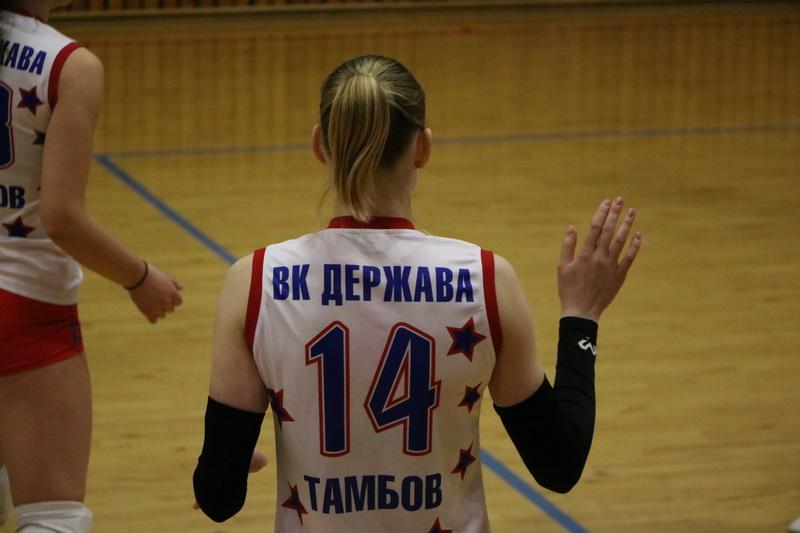 """ВК """"Держава"""" выиграл третий матч подряд в финале студенческой лиги"""