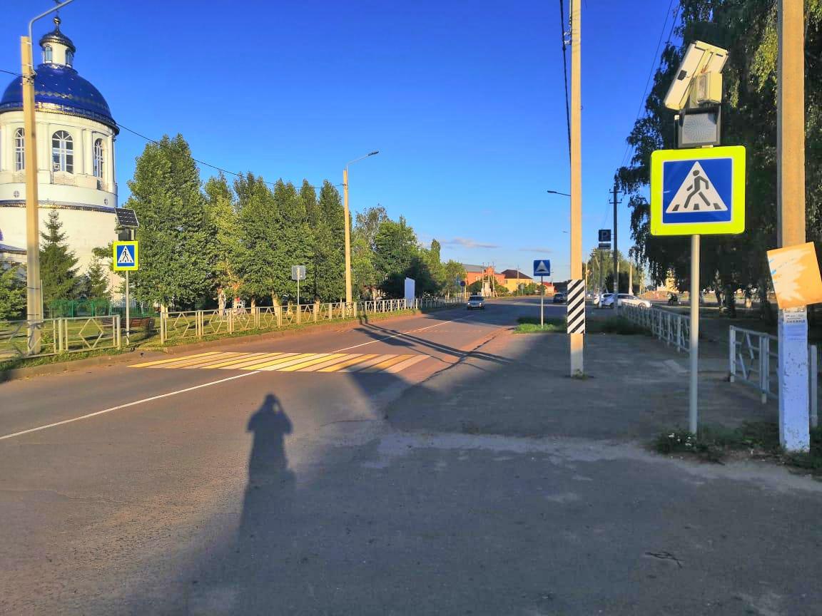 Водитель иномарки сбил 12-летнюю велосипедистку на пешеходном переходе