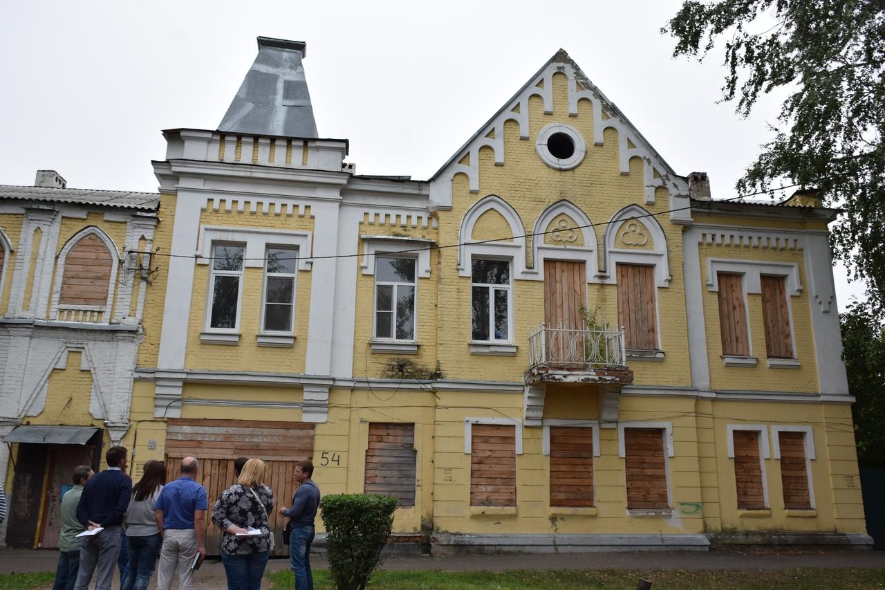 В Тамбове провели объезд по объектам культурного наследия