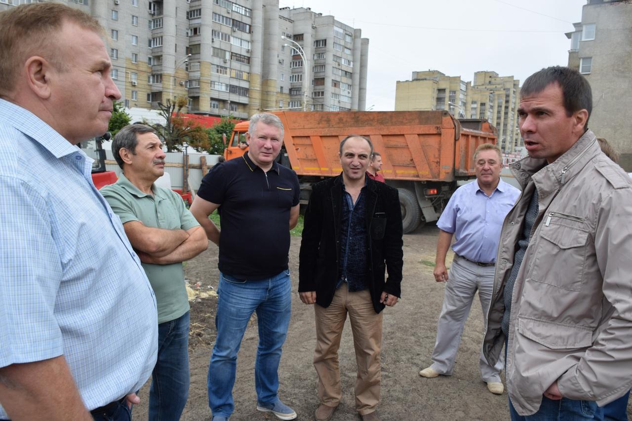 В Тамбове начался второй этап благоустройства площади Льва Толстого