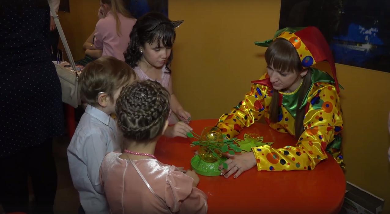 Новогодняя ёлка для детей с ограниченными возможностями 2019-2020