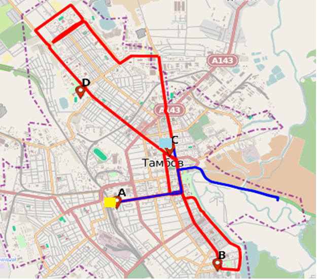 маршрут эстафеты олимпийского