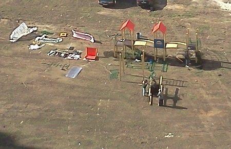 Новые микрорайоны Тамбова прирастают детскими игровыми площадками