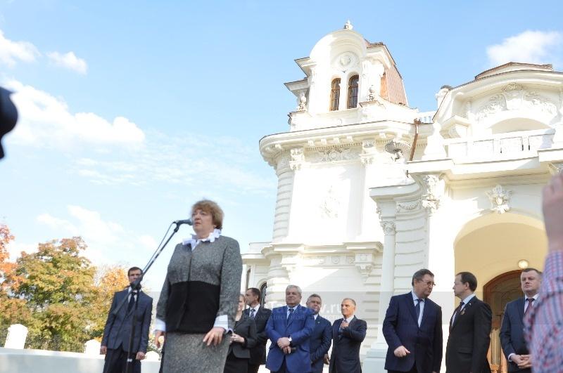 Министр культуры Владимир Мединский открыл в Тамбове молодёжный театр и дом Асеева