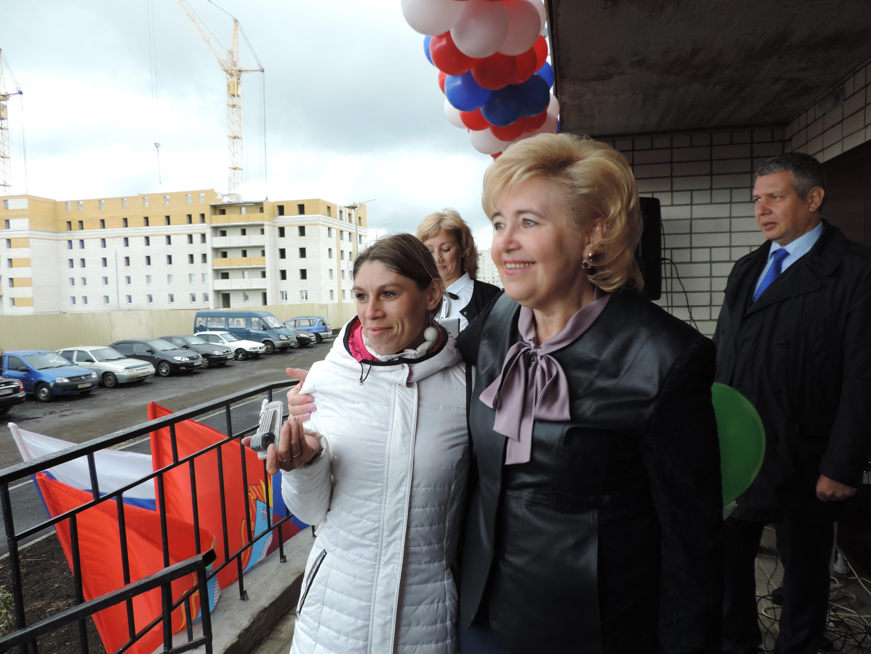 ВТамбове 20 детей-сирот получили новые квартиры