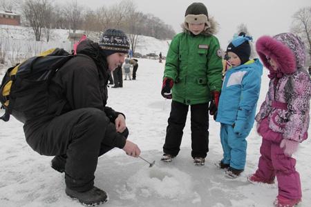 В Тамбове прошёл детский рыболовный фестиваль