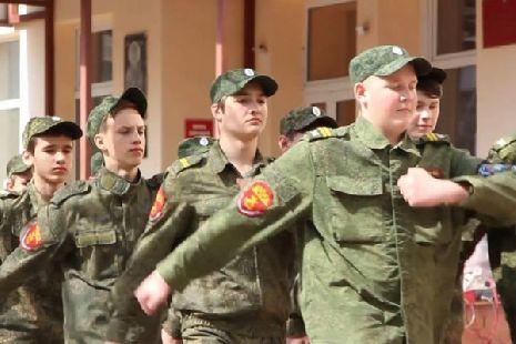Воспитанники казачьей кадетской школы Тамбова приняли участие в антинаркотической акции