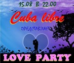 Cuba libre LOVE PARTY