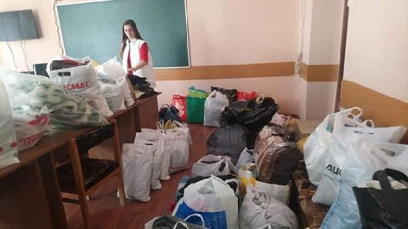 В Тамбове готовят к отправке гуманитарную помощь для пострадавших от наводнения