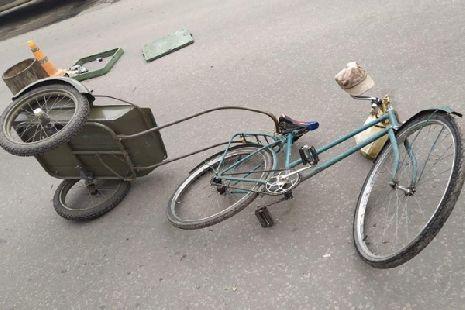 В Мичуринске водитель иномарки сбил 64-летнего велосипедиста