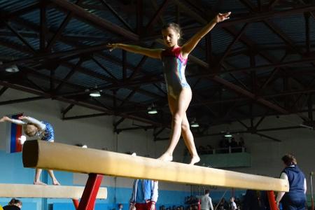 В Котовске прошло первенство города по спортивной гимнастике