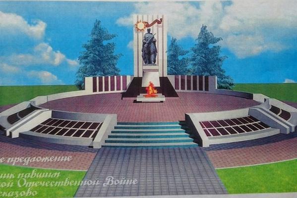 Резные памятники Рассказово Эконом памятник Башня с профильной резкой Пестово