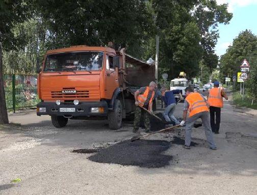 Дорожники в Тамбове начали подготовку к 1 сентября
