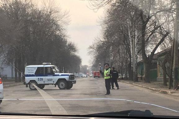 В Тамбове перекрыли Северную площадь