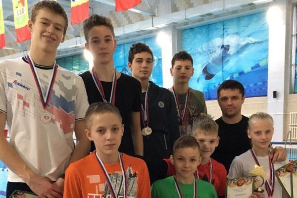 Тамбовские пловцы завоевали пять золотых медалей на межрегиональном турнире