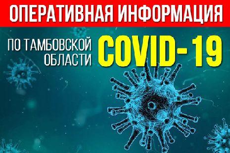 За сутки в Тамбовской области выявили 35 новых случаев коронавируса