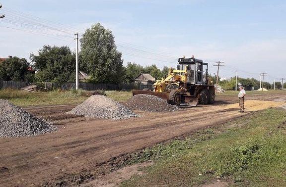 В селе Перкино Сосновского района начался ремонт дороги