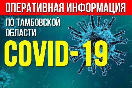 В Тамбовской области выявили новые случаи заболевания коронавирусом