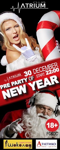 """Pre party of New Year"""