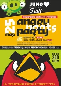 ANGRY BEATS Party