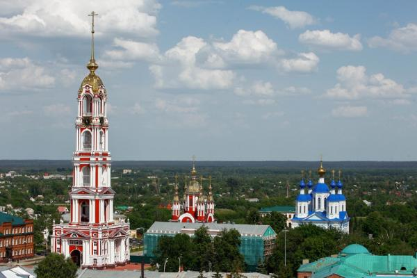 Колокольня Казанского мужского монастыря