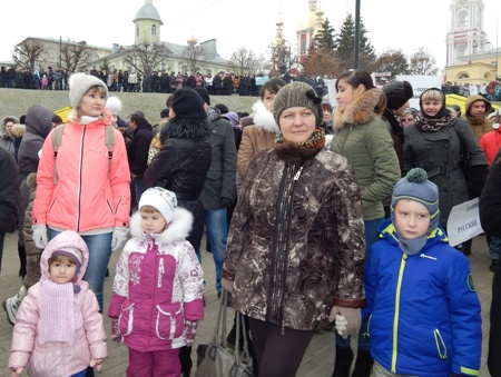 Тамбовчане отметили День народного единства